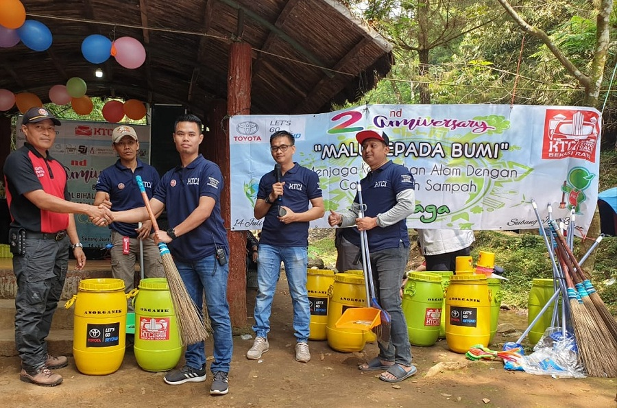 wisata alam capolaga kabupaten subang, jawa barat 41282 KTCI Chapter Bekasi Raya Menyelenggarakan Baksos Di Wisata